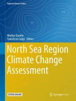 North Sea Region Climate Change Assessment 1st ed. 2016