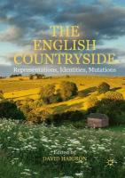 English Countryside: Representations, Identities, Mutations 1st ed. 2017