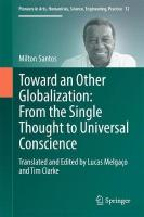 Toward an Other Globalization: From the Single Thought to Universal Conscience 1st ed. 2017