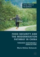 Food Security and the Modernisation Pathway in China: Towards Sustainable Agriculture 1st ed. 2018