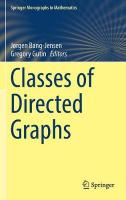 Classes of Directed Graphs 1st ed. 2018