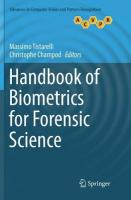 Handbook of Biometrics for Forensic Science Softcover reprint of the original 1st ed. 2017