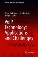 VoIP Technology: Applications and Challenges 1st ed. 2019