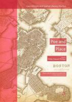 Poe and Place 1st ed. 2018