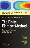 Finite Element Method: Theory, Implementation, and Applications 2013 ed.