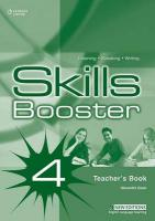 Skills Booster 4: Teacher's Book New edition