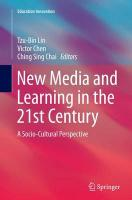 New Media and Learning in the 21st Century: A Socio-Cultural Perspective Softcover reprint of the original 1st ed. 2015